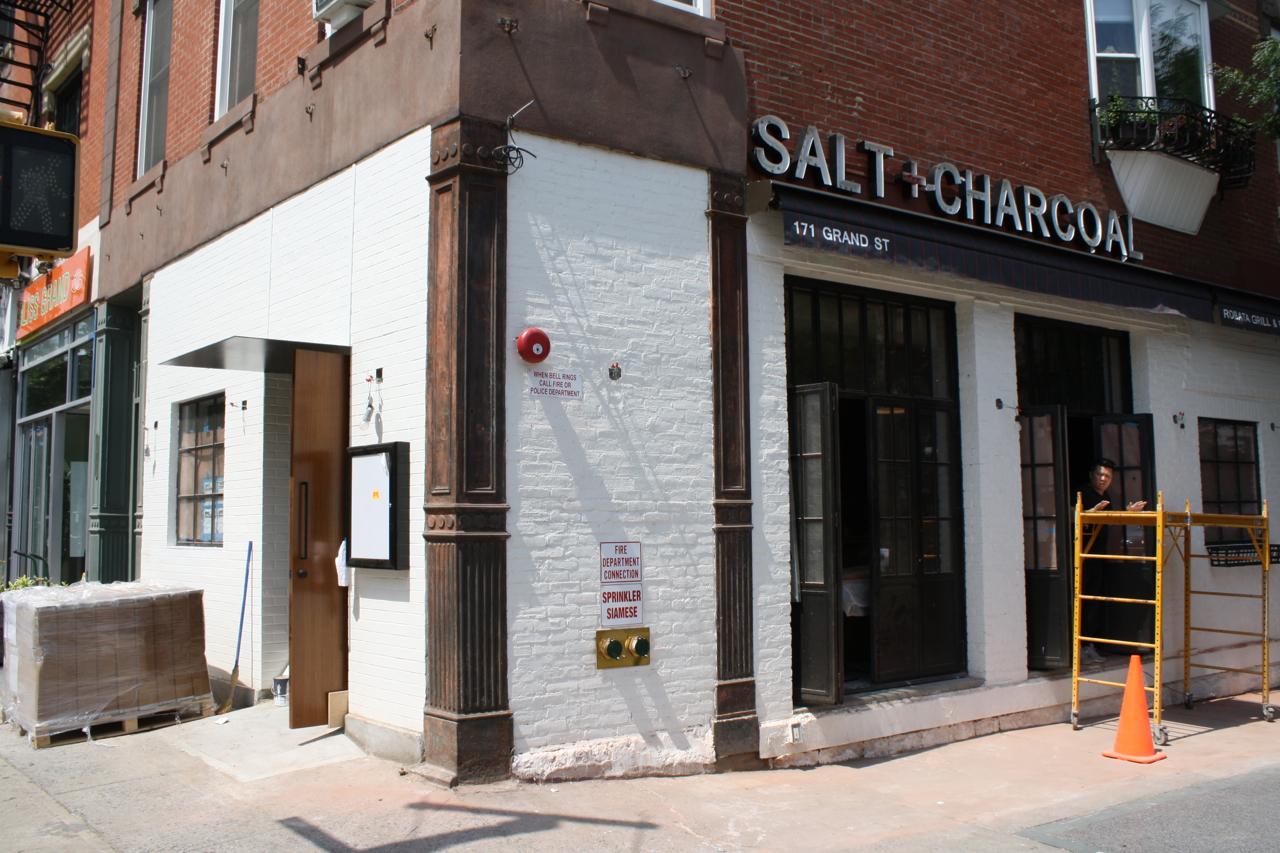 Salt + Charcoal