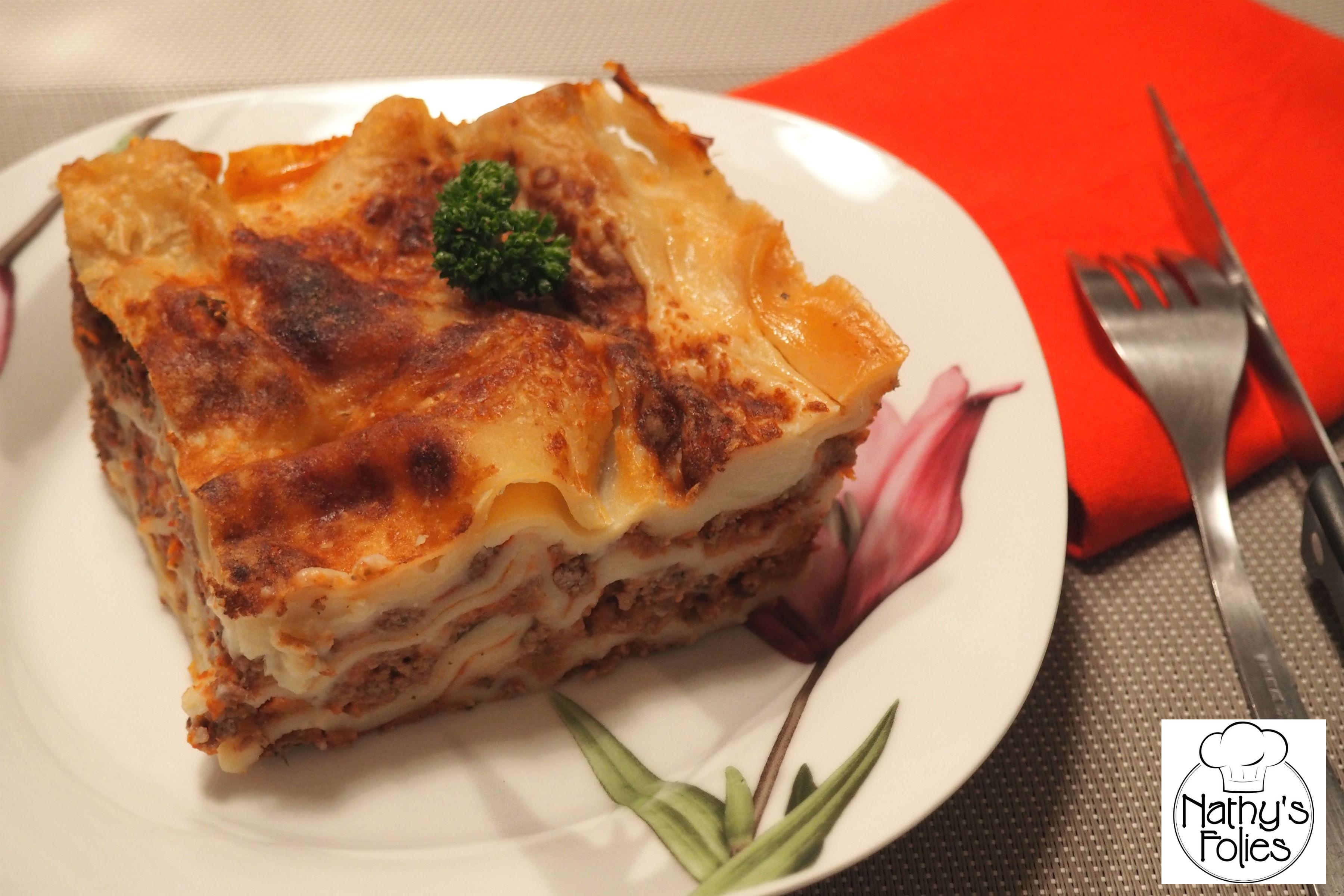 Lasagnes à la bolognaise à ma façon