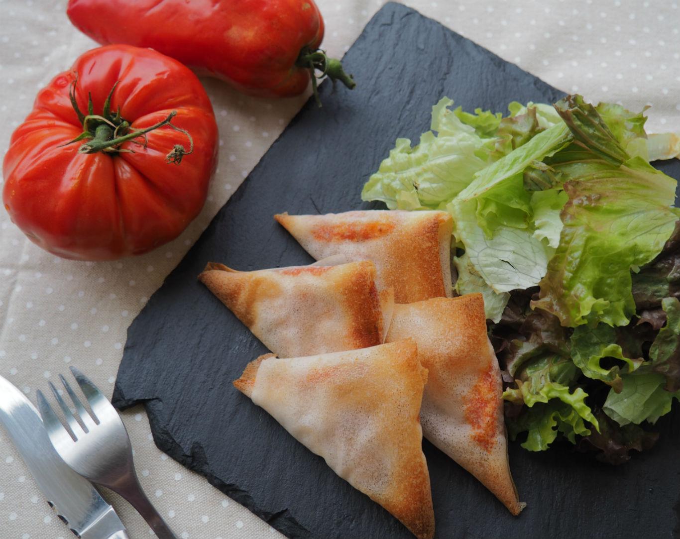 Brick tomates ricotta pour apéro gourmand