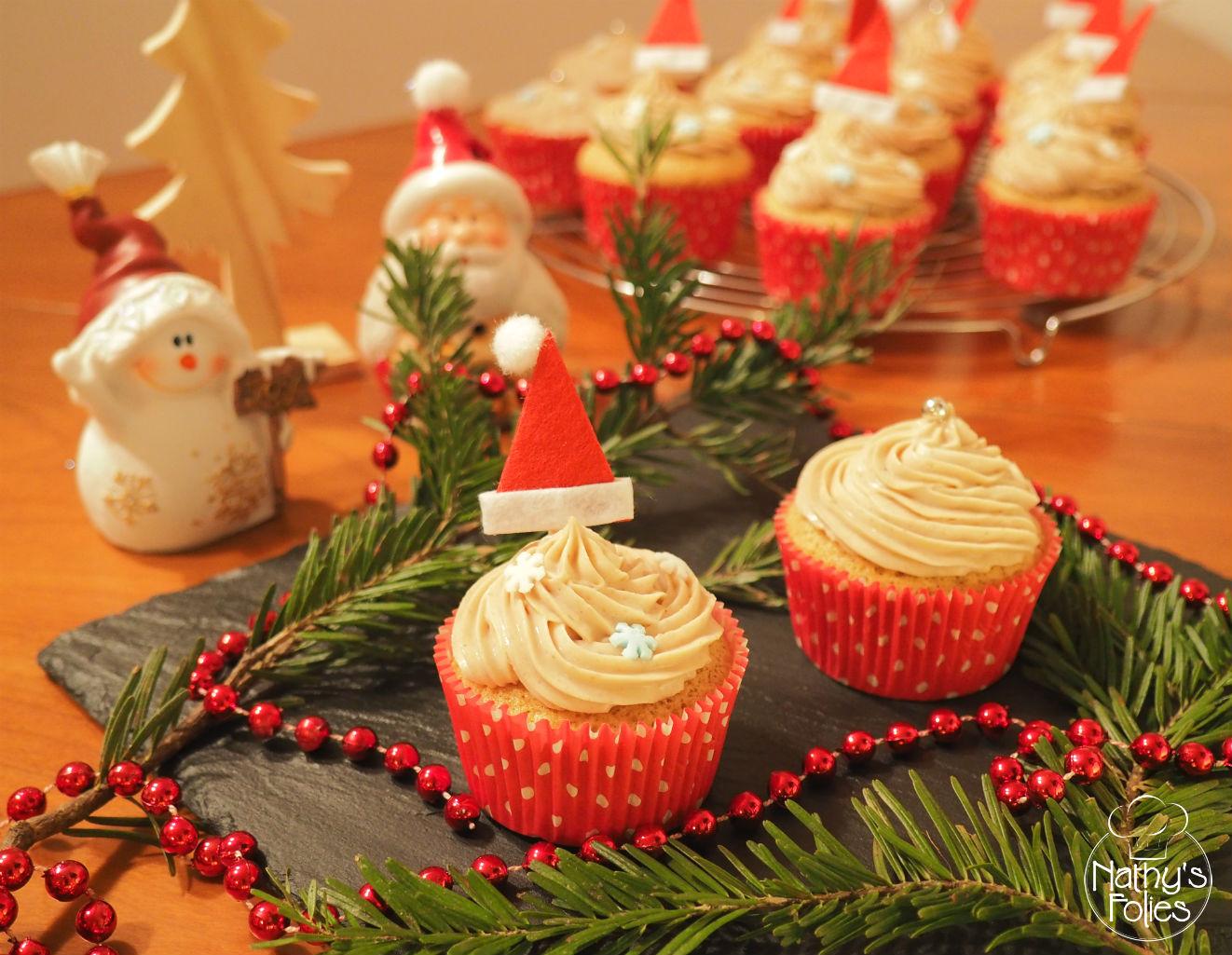 Cupcakes aux marrons, en attendant Noël !