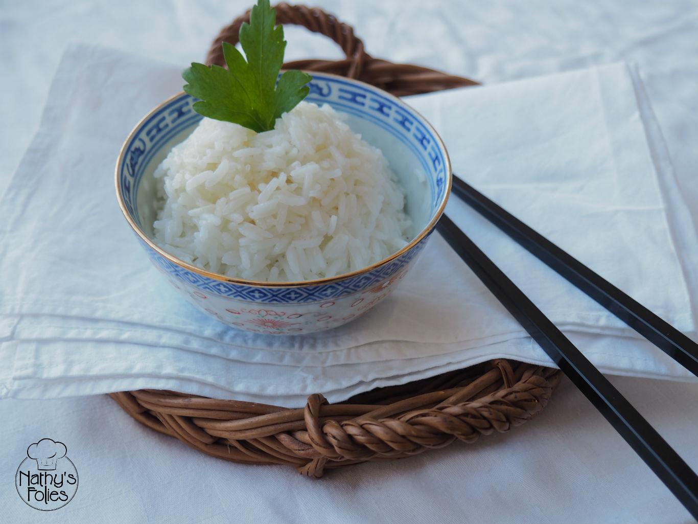 Riz cuit à l'asiatique ou cuisson par absorption